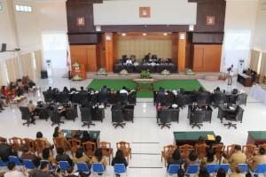 Rapat Paripurna Penetapan Perubahan APBD 2018