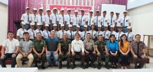 Calon Paskibraka, Kadispora bersama para instruktur