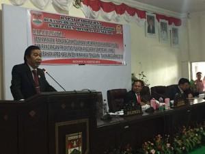 Sumendap Berang Pidato Kenegaraan di DPRD Tidak Siap, Sekwan Mohon Maaf