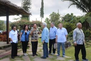 Wali Kota Tolmohon didampingi Bapelitbang dan rombongan Dubes negara sahabat