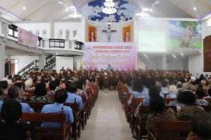 Kegiatan Kebersamaan Lansia GMIM Wilayah Tomohon Satu