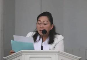 Kadis Pendidikan dan kebudayaan Juliana Dolvin Karwur MKes MSi
