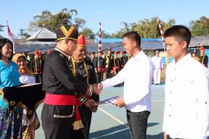 Wali Kota Irup HUT ke-73 RI di Lapas Anak Tomohon