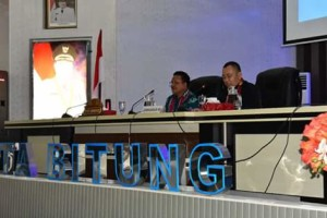 Wakil Walikota Bitung, Ir Maurits Mantiri MM, Lemhanas  ri