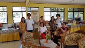 Senator SBAN Liow Didaulat Ketua Panitia Reuni SMPN 2 Amurang