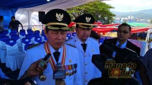 Irup Upacara HUT RI ke-73, Lumentut: Mari Pererat Kerukunan di Kota Manado