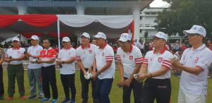 pencanangan peringatan HUT ke-73 Kemerdekaan Republik Indonesia