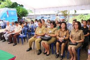 Para camat se-Kota Tomohon dan peserta sosialisasi