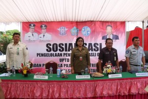Para pejabat yang hadir di launching dan sosialisasi