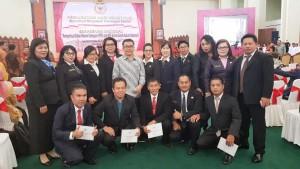 SBAN Liow bersama pengawas dan guru berprestasi Sulut Tahun 2018