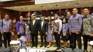 SBAN Liow, Retel, Komisi REmaja Sinode GMIM bersama Ketua DPD-RI Oesman Sapta Odang