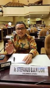 SBAN Liow Sampaikan Sukses Penyelenggaraan TIFF 2018 di Sidang Paripurna DPD-RI