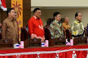 OD-SK Hadiri Sidang Paripurna Istimewa Mendengarkan Pidato Kenegaraan Presiden RI