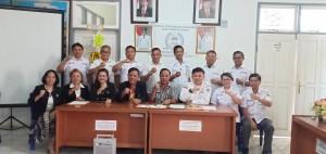 Pengurus DPD LPM Sulut dan DPD LPM Tomohon