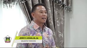 Manado Fiesta 2018 , Wali Kota Tomohon, Jimmy Eman, parawisata sulawesi utara