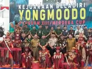 Hadiri Pembukaan Kejuaraan Beladiri Yongmoodo, Wawali Mor: Junjung Sportivitas