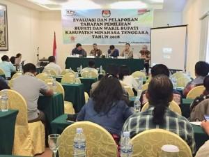 Gelar Evaluasi dan Pelaporan Tahapan Pilkada 2018, KPU Mitra Diapresiasi