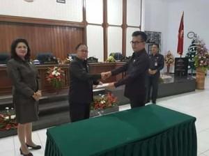 APBD-P 2018, Legislatif, DPRD minahasa
