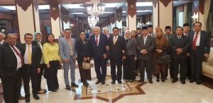 Senator SBANL bersama Delegasi Indonesia dan Ketua Parlemen Azerbaijan