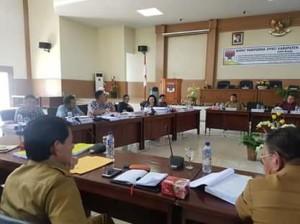 Banggar DPRD Minsel,  APBD Perubahan 2018,  APBD Perubahan 2018 minsel