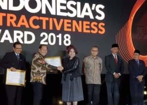 Bitung Raih Indonesia Attractiveness Award 20183