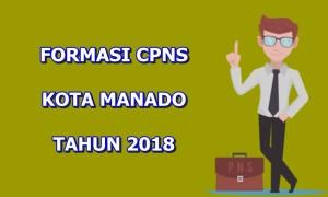 Ini Daftar Lengkap Formasi CPNS Pemkot Manado Tahun 2018