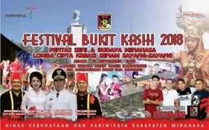 Bassgilano Revolution,s Royke H Mewoh DEA, Festival Bukit Kasih 2018
