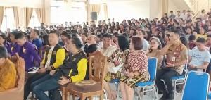 Undnagan, Komisi Pemuda GMIM, Panitia dan peserta lomba yang hadir di ibadah pembukaan