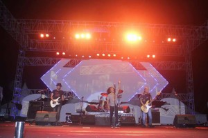 Konser Slank Sukses Hebohkan Kota Manado, Kaka Ajak Kurangi Sampah Plastik