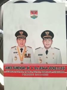James Sumendap SH , Jesaya Yoke Legi,