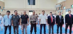 Pembukaan pertandingan karate dalam rangka Haornas