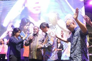 KKR Enthrone Christ for Rise Up Sulut, Manado Fiesta 2018, Kingdom Apostolic International, Pdt Amos Jayarathnam