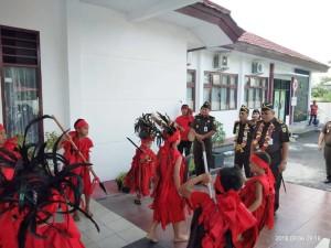 Rombongan Kajati Sulawesi Utara didambut di Kejari Tomohon