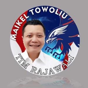Maikel Towoliu, partai nasdem, GS Vicky Lumentut , Ketua Tim Rajawali GSVL ,  Tim Rajawali GSVL