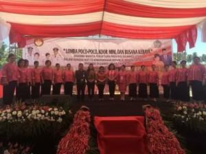 Koor Mini DWP Pemkab Minahasa,  HUT Provinsi,  Lomba Koor Mini