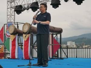 Menteri Dalam Negeri RI ,Tjahjo Kumolo, Gerbang Parawisata, Manado Fiesta 2018,