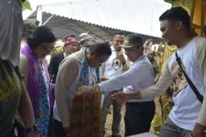 Menteri Koordinator Perekonomian, Darmin Nasution , Menteri Lingkungan Hidup dan Kehutanan, Siti Nurbaya,Peringatan HKAN Bitung