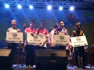 Meriah, Ini Daftar Pemenang Festival Kolintang Funtastic Manado Fiesta 2018