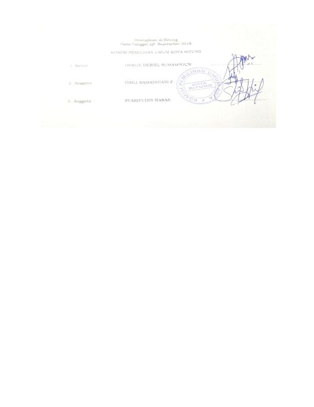 PENGUMUMAN DCT DPRD KOTA BITUNG_123