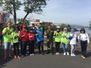 DLH Kota Manado , World Cleanup Day 2018, Kadis DLH ,Yohanis Waworuntu