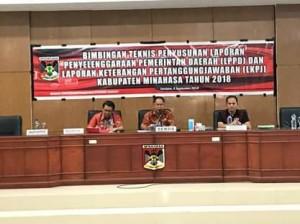 Pemkab Minahasa, Bimtek Penyusunan LPPD