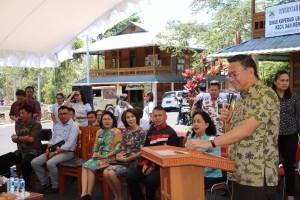 Wali Kota Jimmy F Eman SE Ak menutup kegiatan pelatihan kewirausahaan