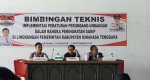 Peningkatan SAKIP, SAKIP Minahasa Tenggara, James Sumendap, Drs Robby Ngongoloy,