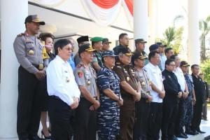 Wali Kota Manado .GS Vicky Lumentut , Operasi Mantap Brata Samrat 2018. Kapolda Sulut, Brigjen Pol Bambang Waskito,