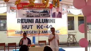 Senator Ir Stefanus BAN Liow mensosialisasikan Empat Pilar MPR-RI