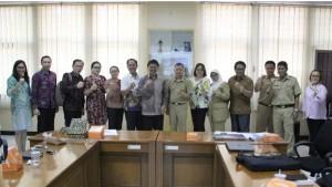 K0misi II DPRD Tomohon bersama staf dan Bappeda Kabupaten Bandung