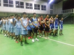 Tim Basket usai berlaga di final