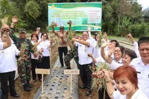 Komoditas Strategis, Bawang Merah akan Dukung Kedaulatan Pangan di Tomohon