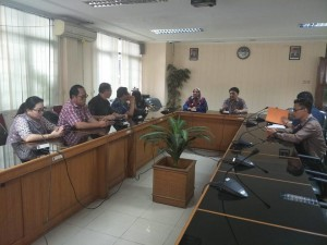 Kunker kOmisi II DPRD Tomohon ke DPRD Bogor