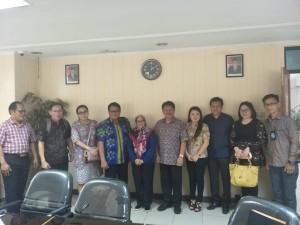 Komisi II DPRD Tomohon bersama Kasubag Verifikasi Sekretariat DPRD Bogor